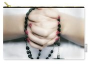 Praying Hands Carry-all Pouch by Joana Kruse