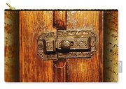 Pre-civil War Bookcase-glass Doors Latch Carry-all Pouch