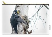 Preening Black-backed Carry-all Pouch