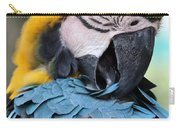 Preening Macaw Carry-all Pouch