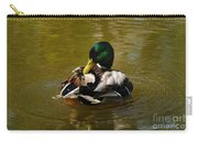Preening Mallard Carry-all Pouch