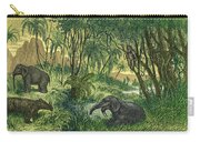Prehistoric, Miocene Landscape Carry-all Pouch