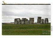 Prehistoric Monument - Stone Henge Carry-all Pouch