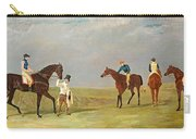 Preparing To Start For The Doncaster Gold Cup 1825 Carry-all Pouch