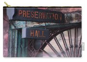 Preservation Hall Sign Carry-all Pouch