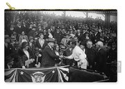 President Herbert Hoover And Baseball Great Walter Johnson 1931 Carry-all Pouch
