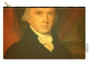President James Madison Portrait And Signature Carry-all Pouch