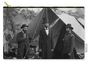 President Lincoln At Antietam Carry-all Pouch