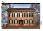 President Lincoln Home Springfield Illinois Carry-all Pouch