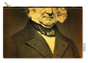 President Martin Van Buren Portrait And Signature Carry-all Pouch by Design Turnpike