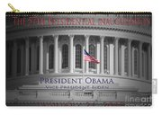 President Obama Inauguration Carry-all Pouch
