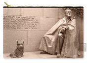 President Theodore Roosevelt 2 Carry-all Pouch