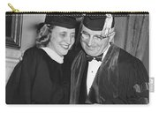 President Truman And Daughter Carry-all Pouch