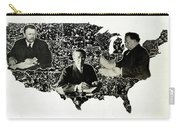 Presidential Map, C1912 Carry-all Pouch