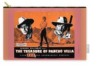 Pressbook The Treasure Of Pancho Villa 1955 Carry-all Pouch