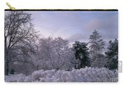 Prettiest Snow Of The Season Carry-all Pouch