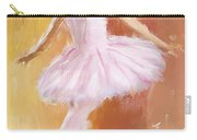 Pretty Ballerina Carry-all Pouch by Lourry Legarde