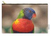 Pretty Bird - Rainbow Lorikeet Carry-all Pouch
