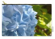 Pretty Blue Flower Carry-all Pouch