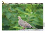 Pretty Dove Carry-all Pouch