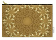Pretty Golden Flowers Carry-all Pouch
