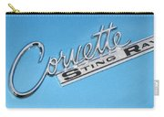 Pretty In Blue Carry-all Pouch