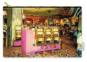Pretty In Pink Bar Stools And Slots Reserved For Spring Break High Rollers   Carry-all Pouch