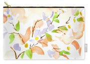 Pretty In Pink Missouri Dogwood Carry-all Pouch by Kip DeVore