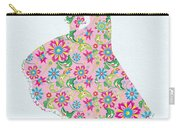Pretty In Pink Flower Girl Carry-all Pouch