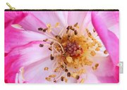Pretty In Pink Rose Close Up Carry-all Pouch