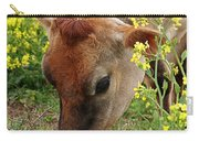 Pretty Jersey Cow - Vertical Carry-all Pouch