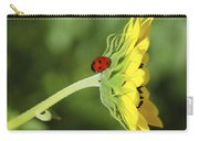Pretty Lady Bug Carry-all Pouch