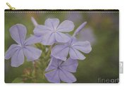 Pretty Lavendar Plumbago Flowers Carry-all Pouch
