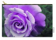 Pretty Lilac Rose Carry-all Pouch