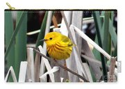Pretty Little Yellow Warbler Carry-all Pouch