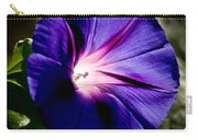 Pretty Morning Glory Carry-all Pouch