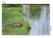 Mated Pair Of Ducks Carry-all Pouch