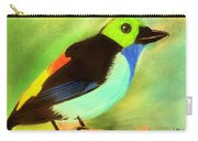 Pretty Paradise Tanager Carry-all Pouch