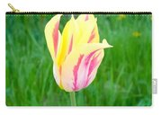 Pretty Pastel Tulip Carry-all Pouch