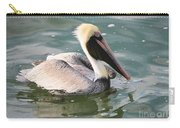 Pretty Pelican In Pond Carry-all Pouch