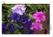 Pretty Petunias Carry-all Pouch