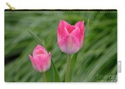 Pretty Pink Tulips Carry-all Pouch