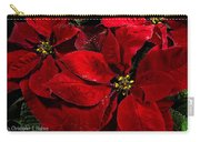 Pretty Poinsettias  Carry-all Pouch