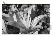 Pretty Pouting Pleasures A Black And White Painting Carry-all Pouch