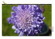 Pretty Purple Flower Carry-all Pouch