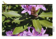 Pretty Purple Rhododendron Carry-all Pouch