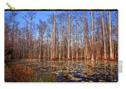 Pretty Swamp Scene Carry-all Pouch by Susanne Van Hulst
