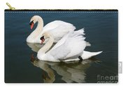 Pretty Swan Pair Carry-all Pouch