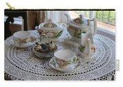Pretty Tea Set Carry-all Pouch