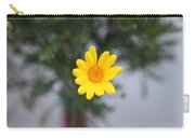 Pretty Yellow Flower Carry-all Pouch